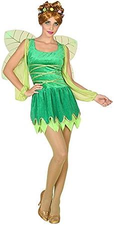 Atosa-39337 Disfraz Hada, Color Verde, M-L (39337): Amazon.es ...