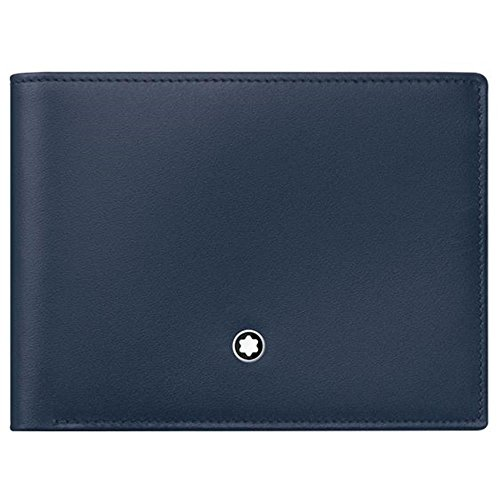 Montblanc Coin Purse, Marine Blue (Blue) - 114542