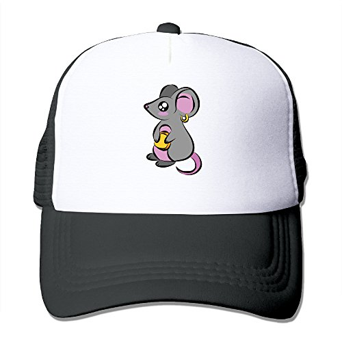 [ACMIRAN Mouse Personalize Mesh Hat One Size Black] (Dragon Warrior King Adult Mens Costumes)