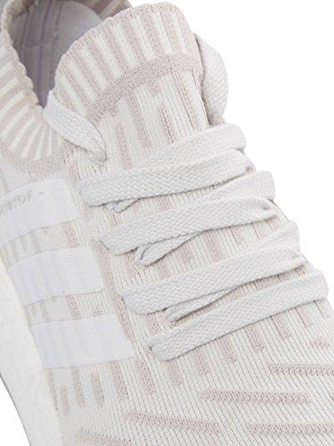 adidas Damen NMD_r2 PK W Turnschuhe verschiedene Farben (Ftwbla / Ftwbla / Rosimp)