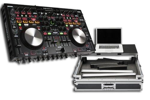 Denon MC6000 MK2 Digital Mixer & Controller With Magma Glide Style Case