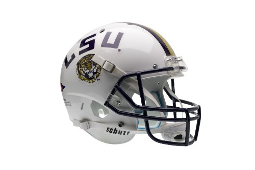 NCAA LSU Tigers Replica XP Helmet - Alternate 2 (White) by Schutt