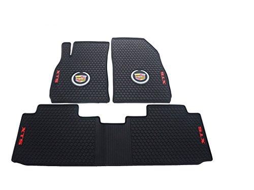 Liners Custom Fit Heavy Duty Full Set Floor Mat for Select Cadillac XTS Models (Black)