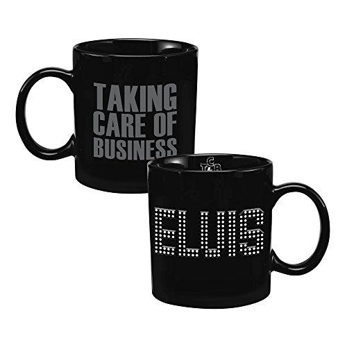 Vandor 52652 Elvis Presley TCB 20 oz. Bas Relief Ceramic Mug, -