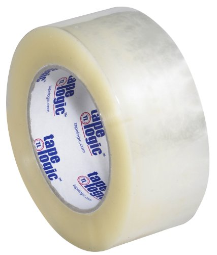 Tape Logic 900 Polypropylene Hot Melt Adhesive Tape, 2.5 mil Thick, 110 yds Length x 2'' Width, Clear (Case of 36) by Tape Logic
