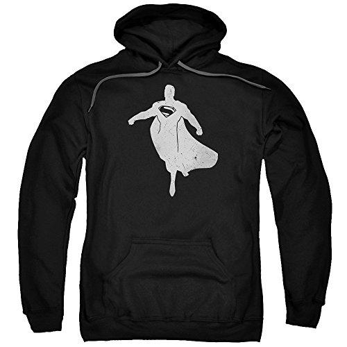 Trevco Men's Batman Vs. Superman Silhouette Hoodie Sweatshirt at Gotham City Store