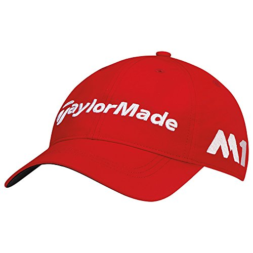 Adidas Tour Hat (TaylorMade Golf 2017 tour litetech hat red)