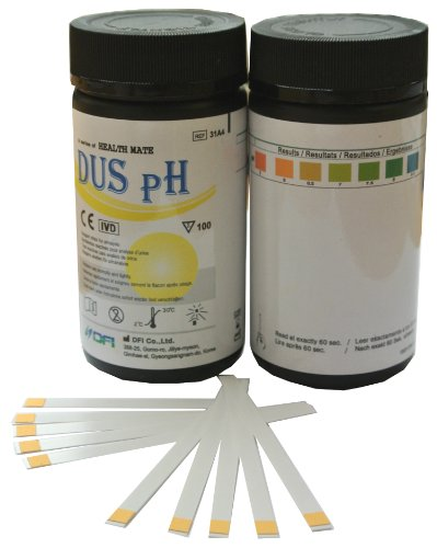 100 X Urine Ph Test Strips For Humans Testing And