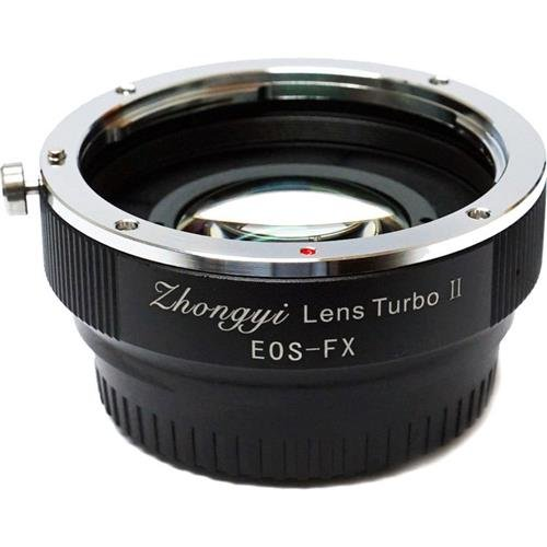 Zhongyi EF-FX Lens Turbo Adapter II Mark 2 Canon EF Mount for Fuji X FX Camera - Turbo Lens