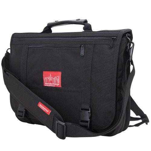 Manhattan Portage Wallstreeter Messenger Bag(Black)