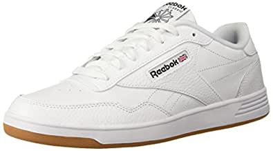 Reebok Men's Club MEMT Walking Shoe, Us-White/Black/Gum, 6 M US