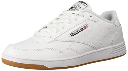 Reebok Men's Club MEMT Walking Shoe, Us-White/Black/Gum, 10.5 M US by Reebok
