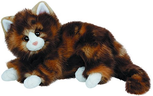 Black Tabby Cat - Ty Classic Jumbles the Calico Cat Plush Toy