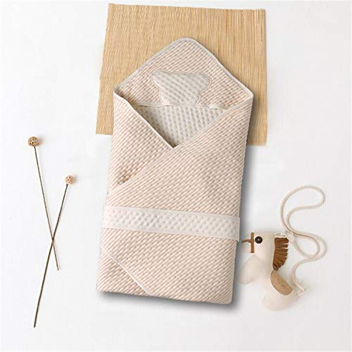 Colored Cotton Newborn Baby Holding Blanket Sleeping Bag Made from 100 Percent Cotton Material ()