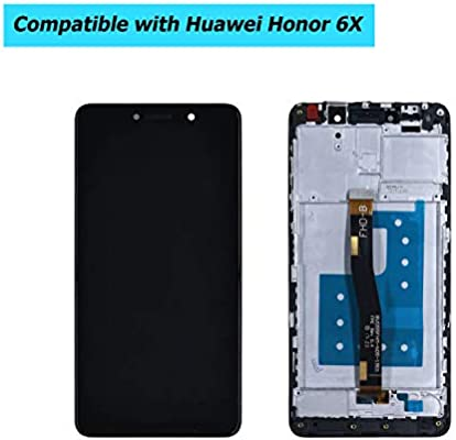 Upplus Pantalla LCD de Repuesto, Compatible con Huawei Honor 6X ...