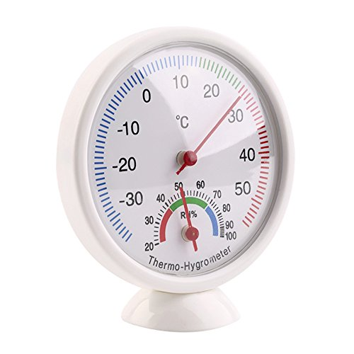 CandyQ Dial Indoor Outdoor Thermometer Hygrometer Temperature Meter