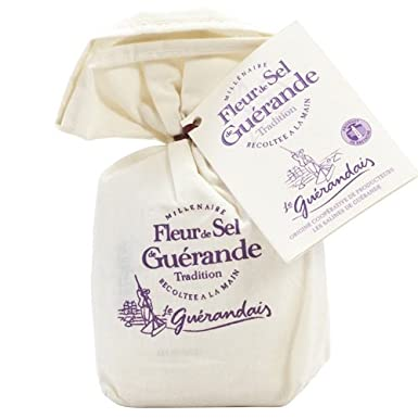 Fleur De Sel De Guerande 250 G In Linen Gift Bag Amazon Co Uk Grocery