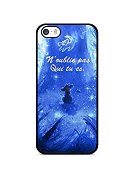 coque iphone 7 silicone le roi lion