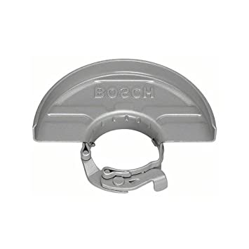 Silver Bosch 2605510280 Protective Guard Without Cover for Grinding 180 mm