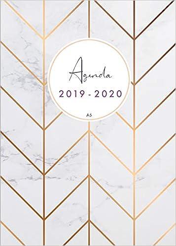 Agenda 2019-2020 a5: Organiza tu día - Agenda semanal ...