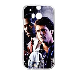 HTC One M8 White Cell Phone Case Lethal Weapon TXBY3981