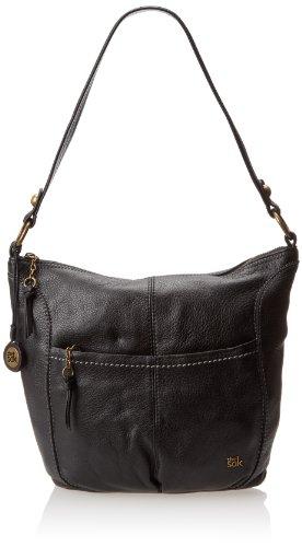 The SAK Iris Large Hobo Bag,Black,One Size