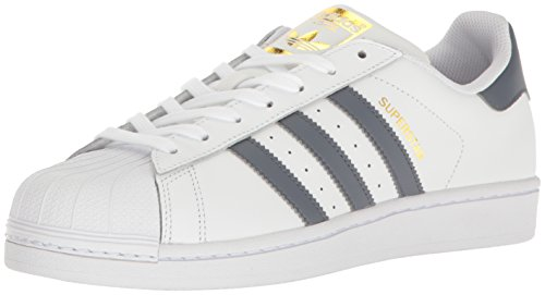 Adidas Originals Women's Superstar W Sneaker White/Onix/Metallic (Large Image)