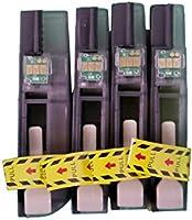 Paquete de 4 cartuchos de tinta compatible Brother LC123 para ...