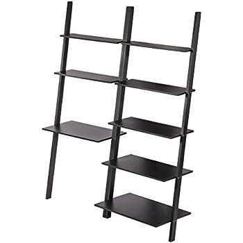 Amazon Com Mainstays Sumpter Park Ladder Bookcase Home