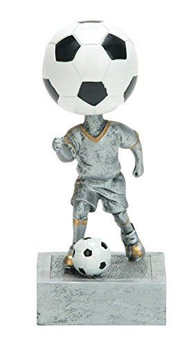Soccer Bobble Head Trophy/ Bobblehead (Custom Engraving Trophy)