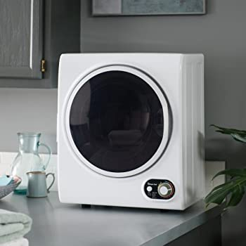 Magic Chef 1.5 cu. ft. Compact Electric Dryer, White