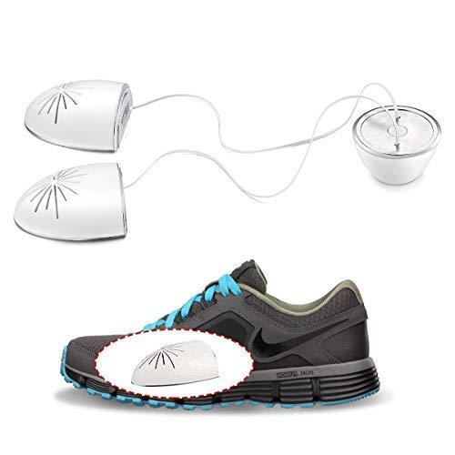 UV Shoe Sanitizer/UV Sneaker Deodorizer/Boot Sterilizer/Kills Toenail Fungus (Onychomycosis)/Ultraviolet and Ozone Double Sterilization