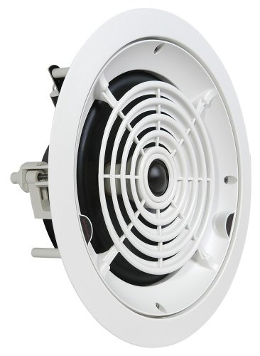 "SpeakerCraft Custom Round Series CRS8 One 8"" 2-Way In-Ceiling Loudspeaker (Each) ASM86811"