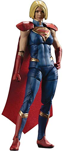 41c8o5yh5lL Hiya Toys Injustice 2: Supergirl 1: 18 Scale Action Figure, Multicolor