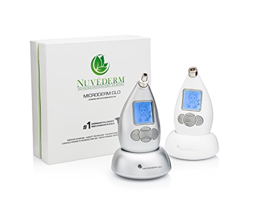 Microderm GLO Diamond Microdermabrasion System by Nuvéderm – #1 Advanced Home Facial Treatment Machine, Clinical Dermabrasion Anti-Aging Care, Perfect Blackhead Remover & Exfoliating Skincare Solution by Microderm GLO (Image #2)