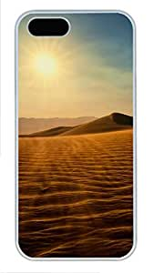 iPhone 5 5S Case Nature Death Valley PC Custom iPhone 5 5S Case Cover White