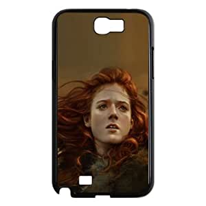 Ygritte Illustration Samsung Galaxy N2 7100 Cell Phone Case Black phone component AU_466376