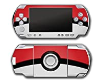 Pokemon Pokeball Pikachu Special Edition Video Game Vinyl Decal Skin Sticker Cover for Sony PSP Playstation Portable Original Fat 1000 Series System