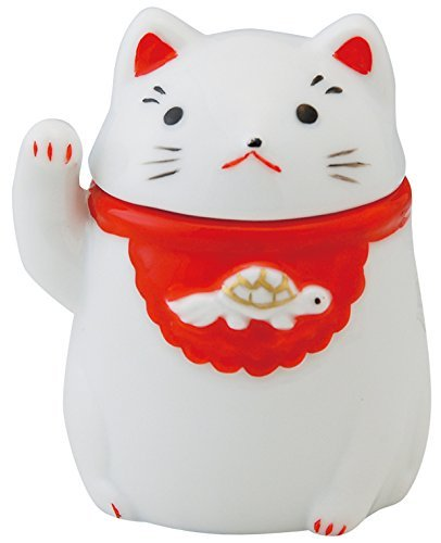 Cat Ceramic 2.4inch Toothpick holder by Watou.asia