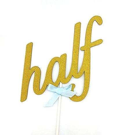 "Amazon.com: Hemarty decoraci[on superior ""Half"" 1/2 para ..."