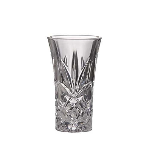 Brilliant Ashford Shot Glass Lead Free Crystal Clear Shot Glass 2 oz. (60ml) Set of 4