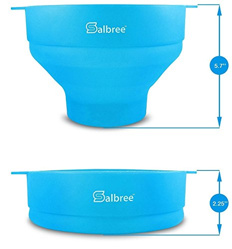 Salbree Collapsible Popcorn Turquoise