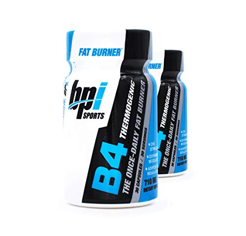 BPI Sports B4 The Once-Daily Fat Burner 710mg 30-Count MegaPack Pack of 2