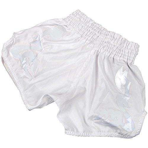 nbsp;– Muay nbsp;pantalones Venum Cortos Inferno Hombre Bangkok Blanco De Thai ESq66ABw