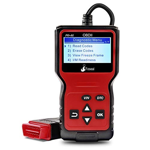 Foseal OBD2 Code Reader, OBD 2 Scanner Professional Enhanced Universal Car Automotive Check Engine Light Error Analyzer Auto CAN Vehicle Diagnostic Scan Tool for OBDII Protocol Cars Since 1996