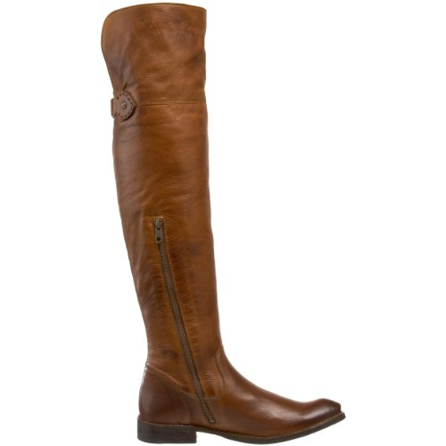 Frye Women's Shirley OTK Slouch Boot, Fatigue, 6.5 M US Brown-77739