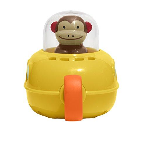 41c8qeP3U1L - Skip Hop Pull & Go Monkey Submarine: Baby Bath Toy, Marshall Monkey Zoo Character