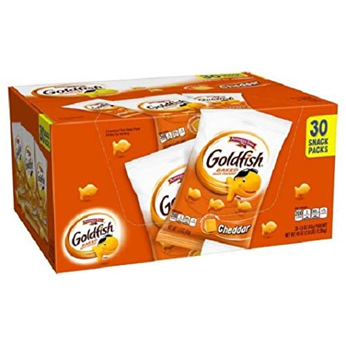 (Pepperidge Farm Cheddar Goldfish Multipack (1.5 oz., 30 ct.))