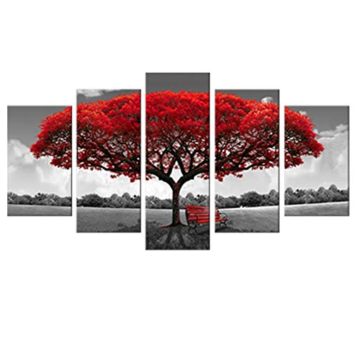 Canvas Wall Art Red