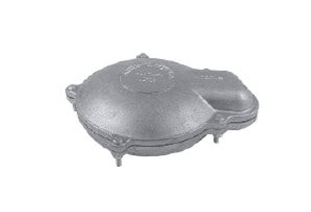 Dicken Aluminum Well Caps WTCC-Style Cast Aluminum (5 inches x 5-9/16 inches)